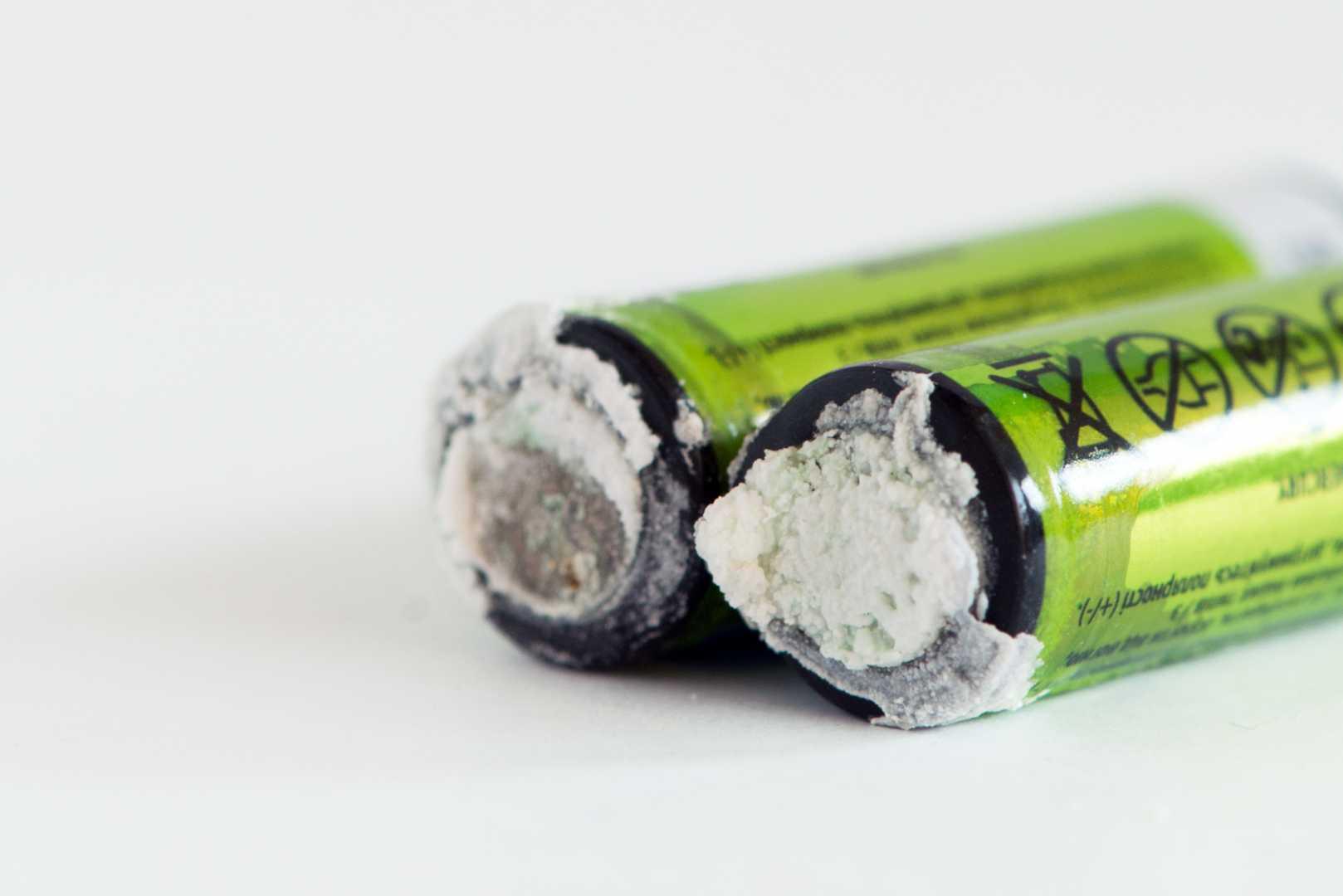Veiligheid batterijen