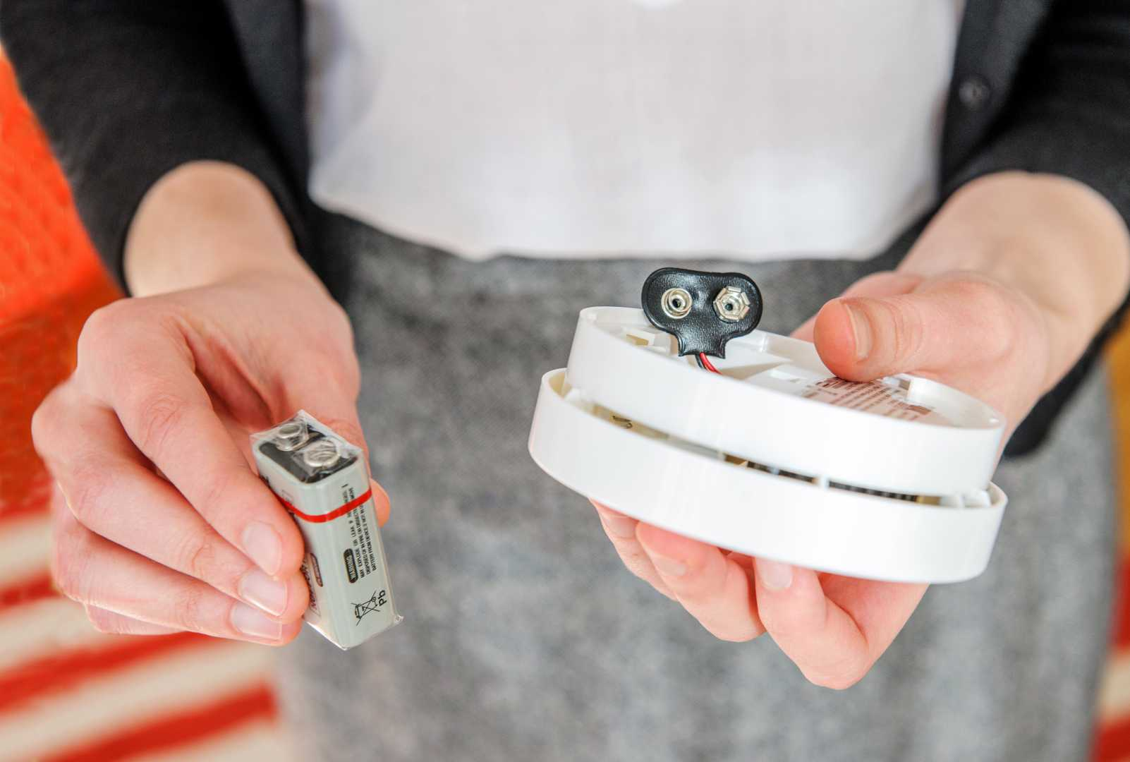 batterijen rookmelder vervangen
