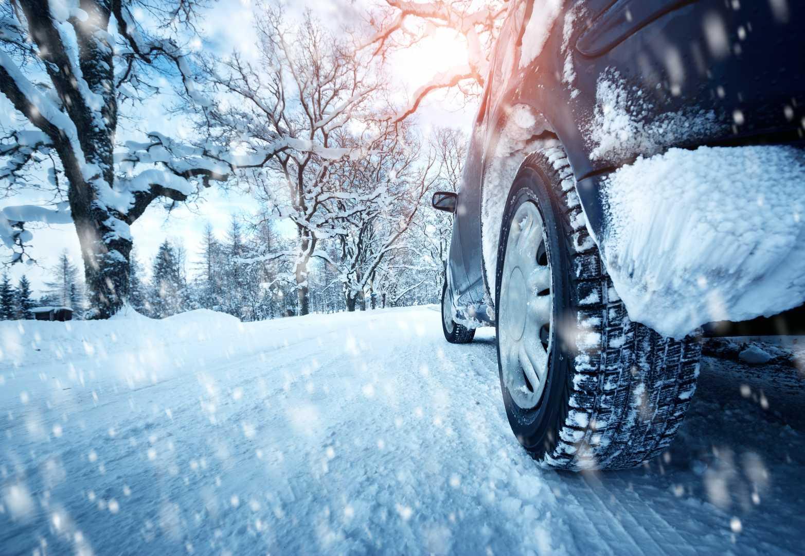 Elektrische auto winter
