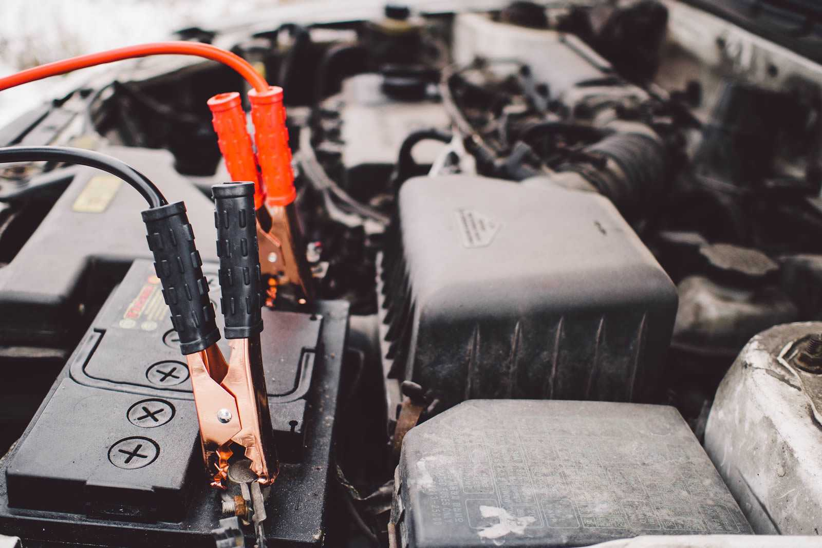Startbatterij auto