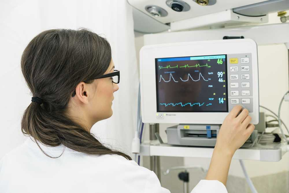 Dokter ECG toestel hartmonitor