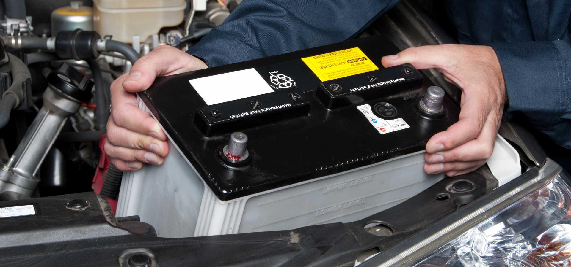 Autobatterij