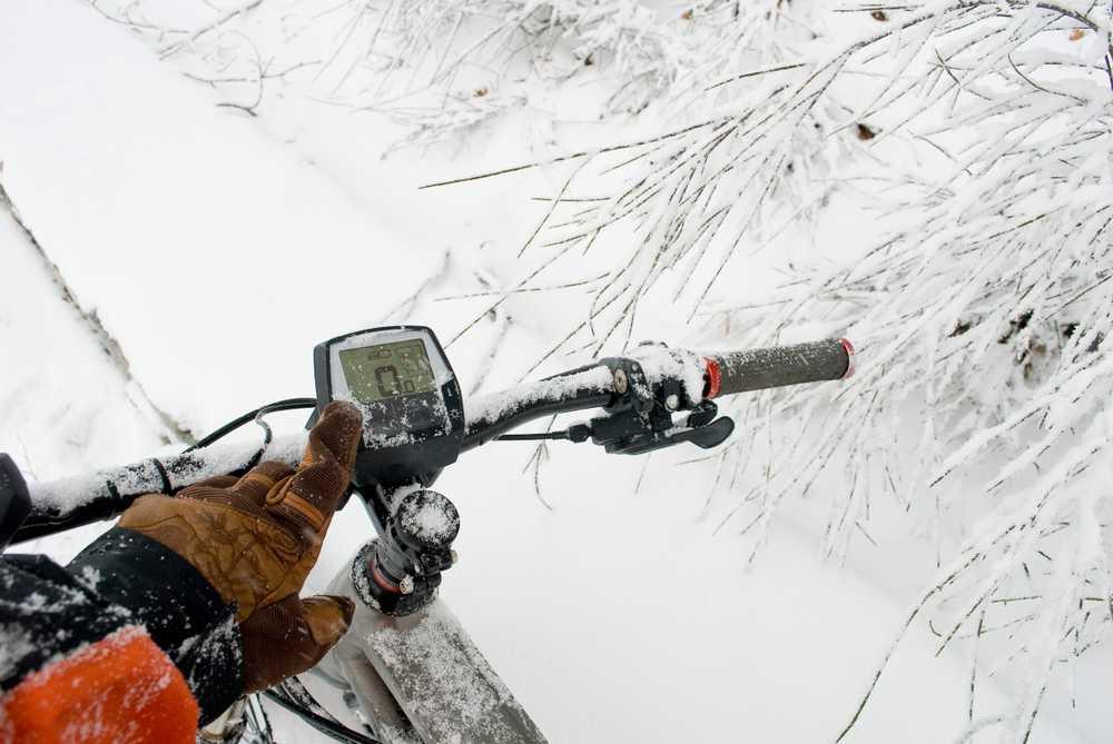 E-bike in de winter
