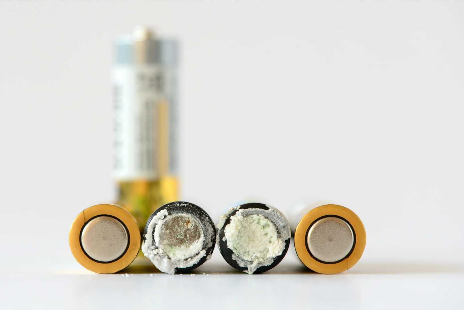 lekkende batterijen