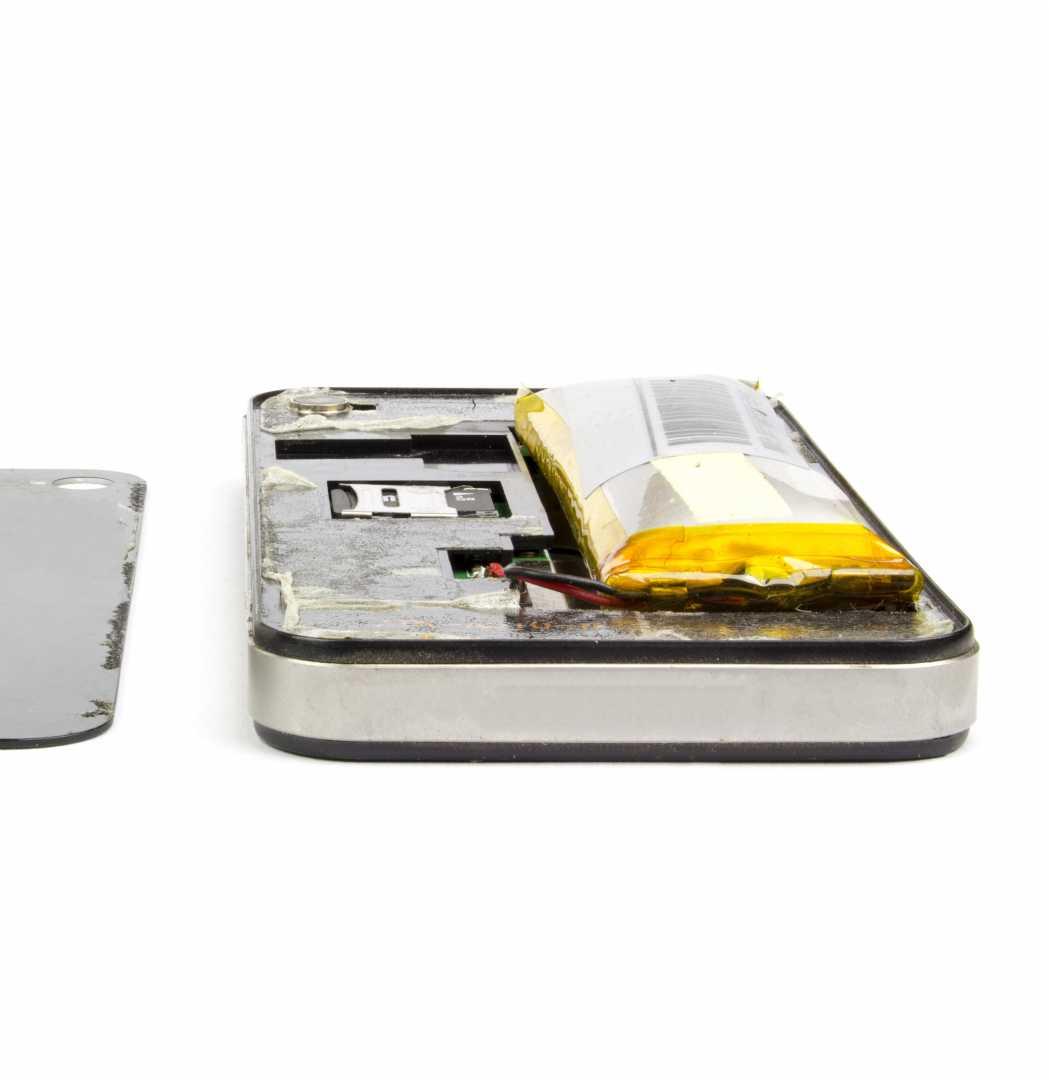 Gezwollen GSM batterij