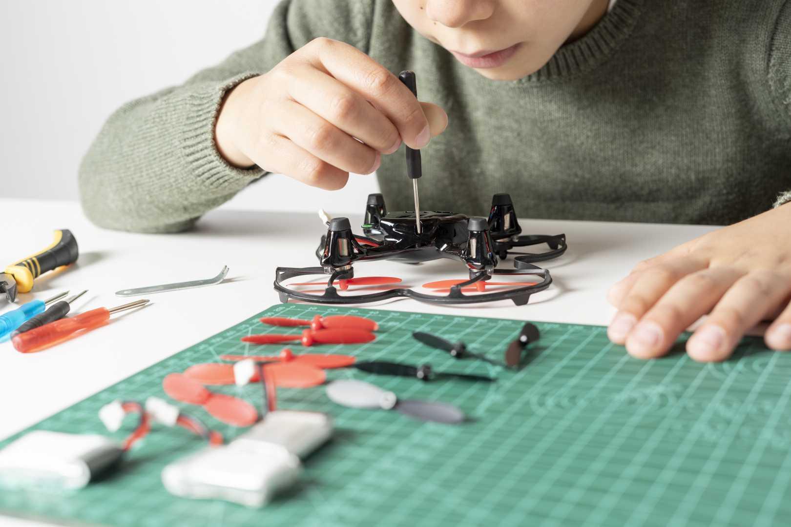 Modelbouw drone