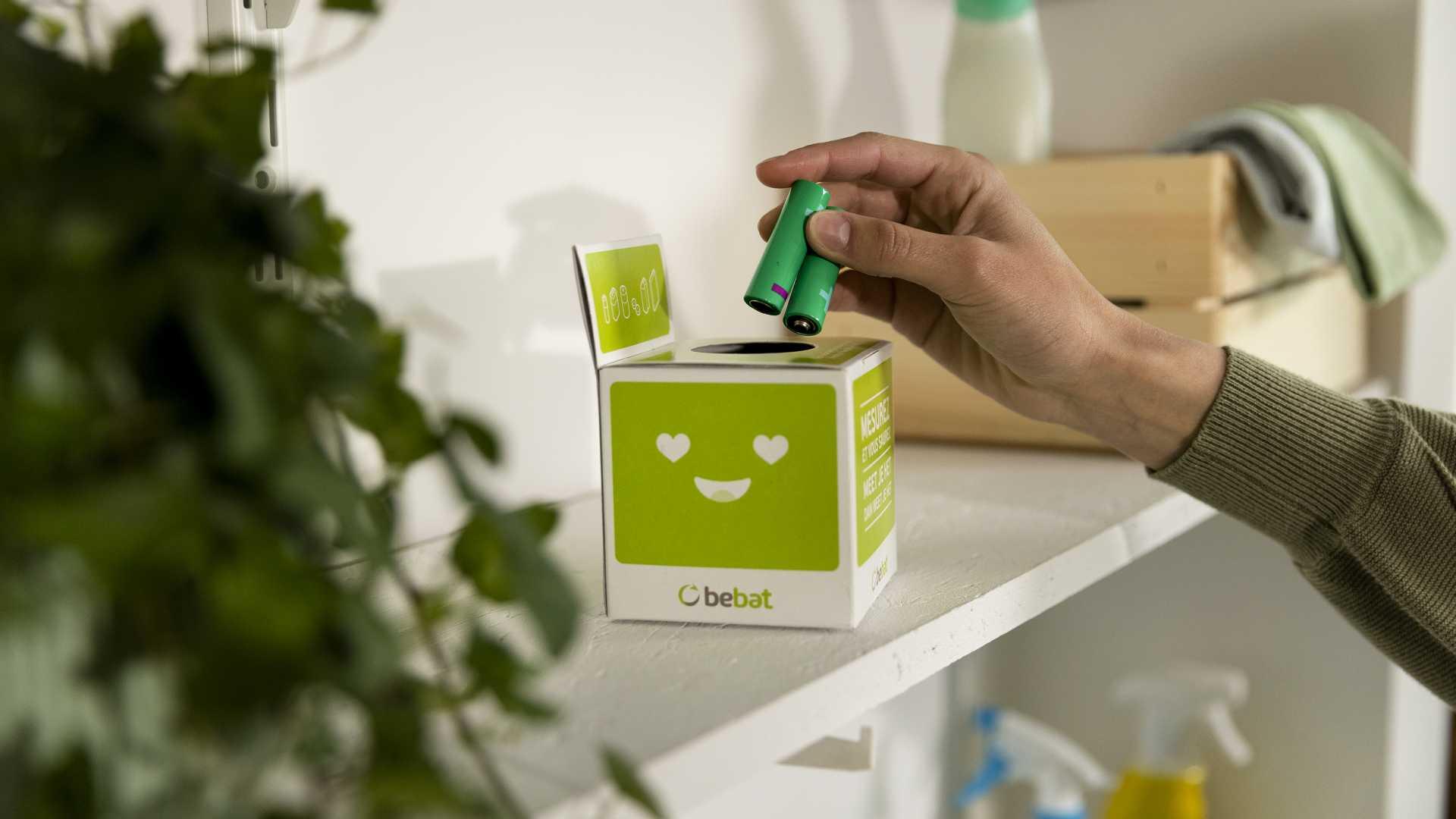 Batterijen in kubus