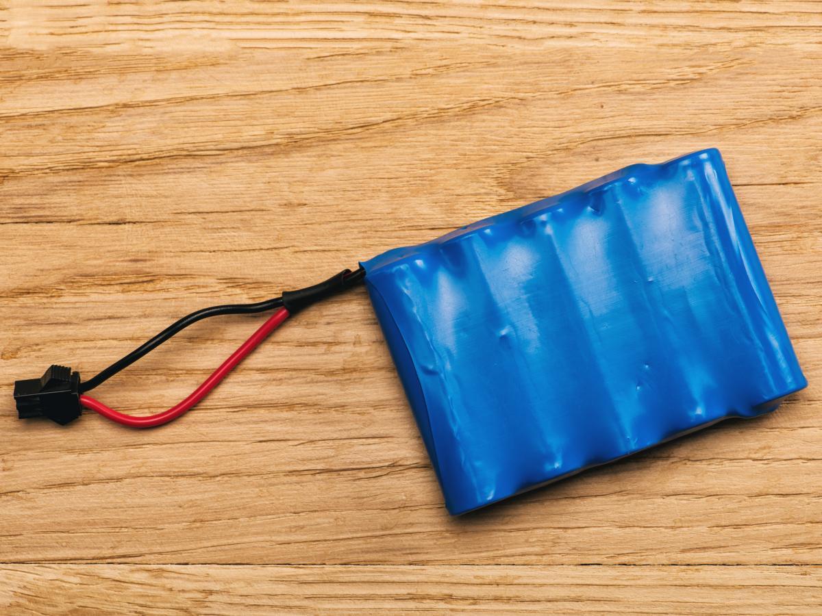 Cadmium batterij