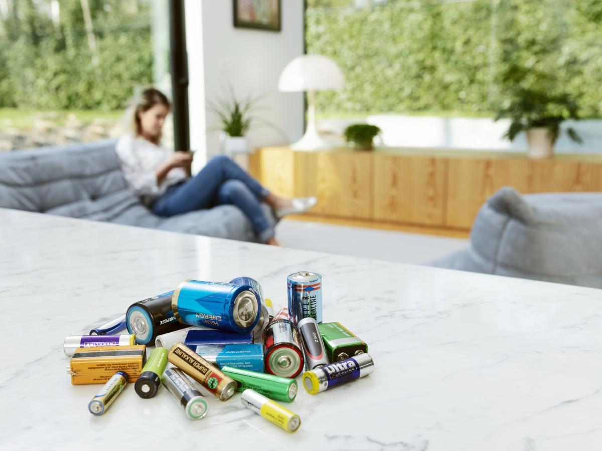 Bij Bebat, verzamelen, sorteren en recycleren we batterijen…