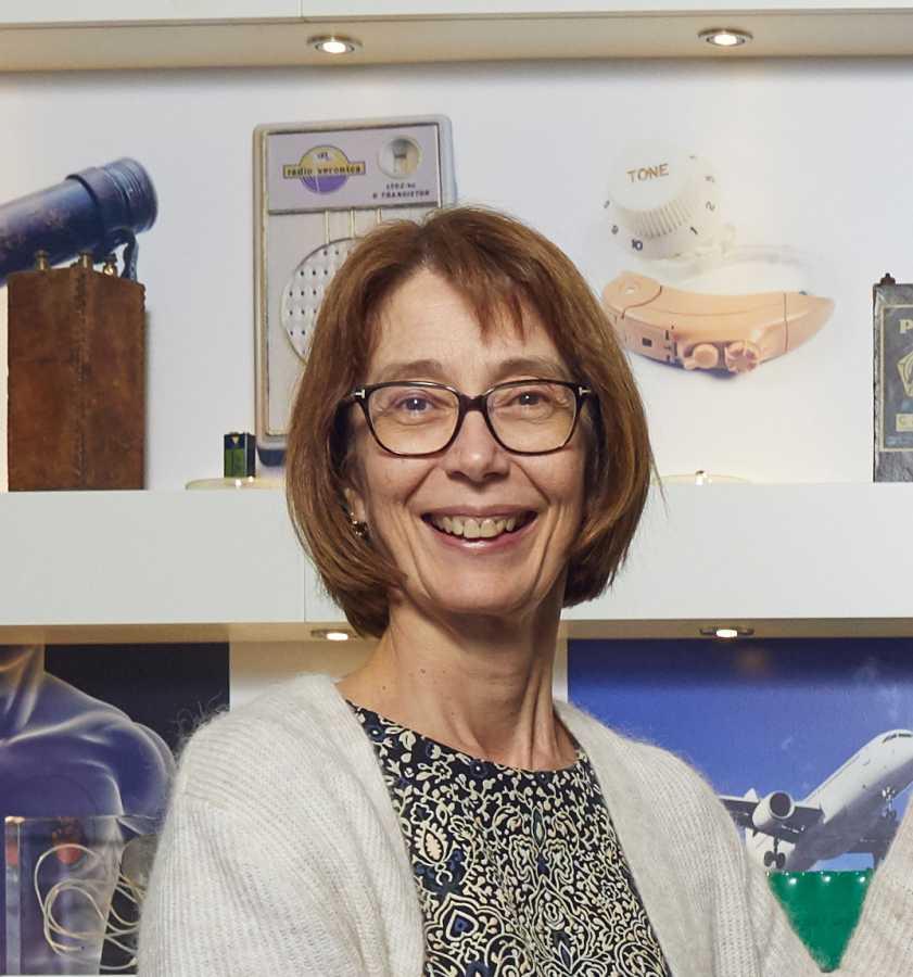 Martine Vanheers, directeur Finance, Customer Service, Legal & Public Affairs bij Bebat