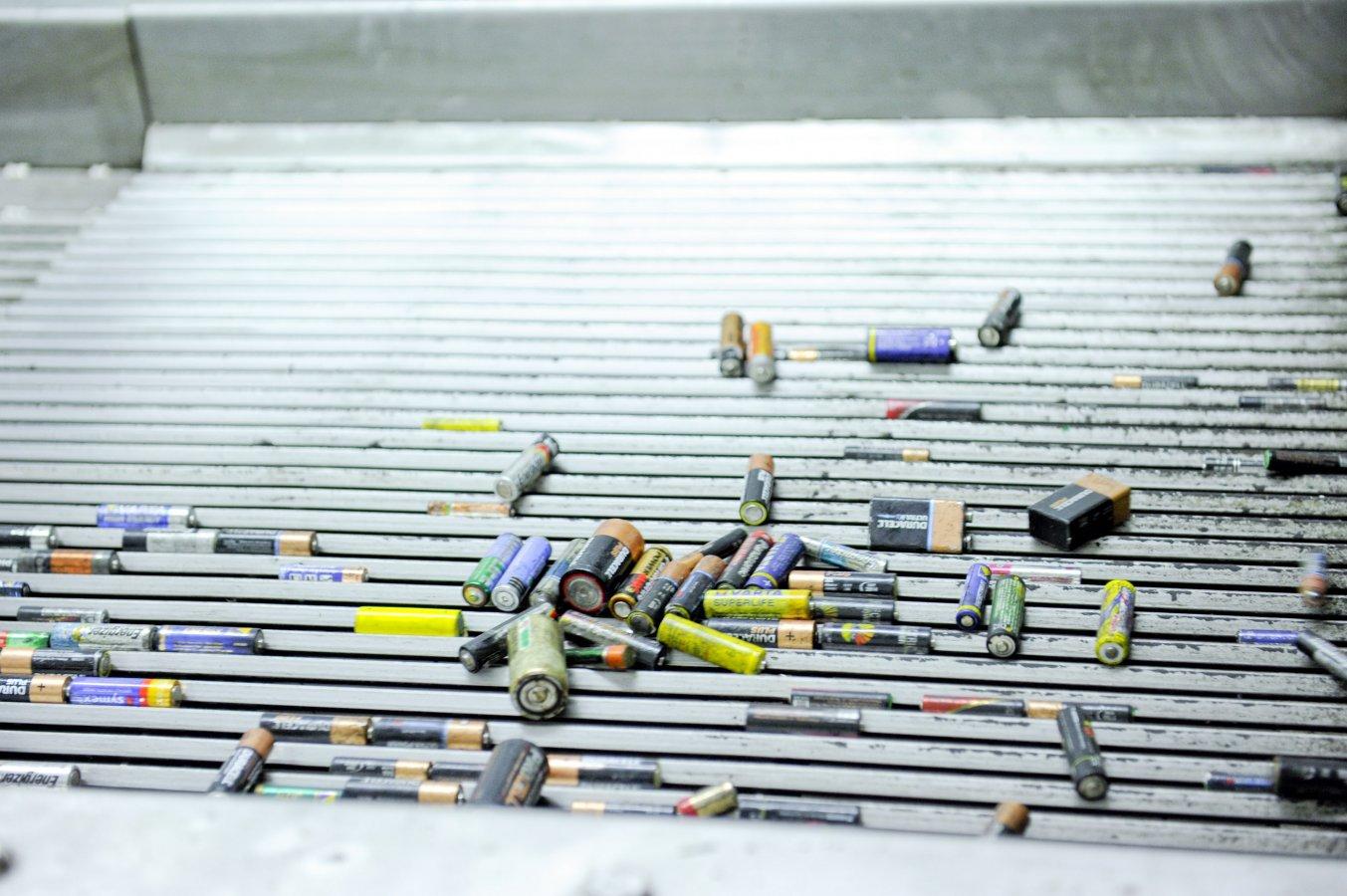 Batterijen sorteren? Zo doen we dat